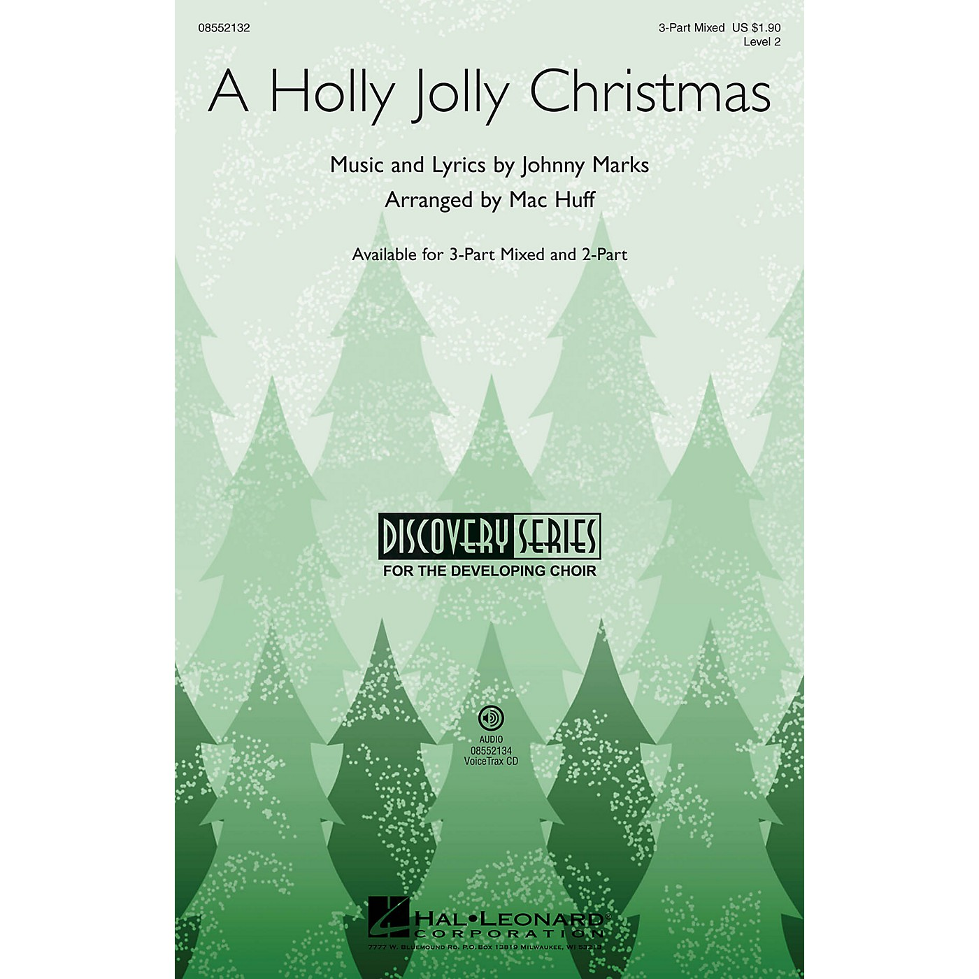 Hal Leonard A Holly Jolly Christmas (Discovery Level 2) VoiceTrax CD by Burl Ives Arranged by Mac Huff thumbnail