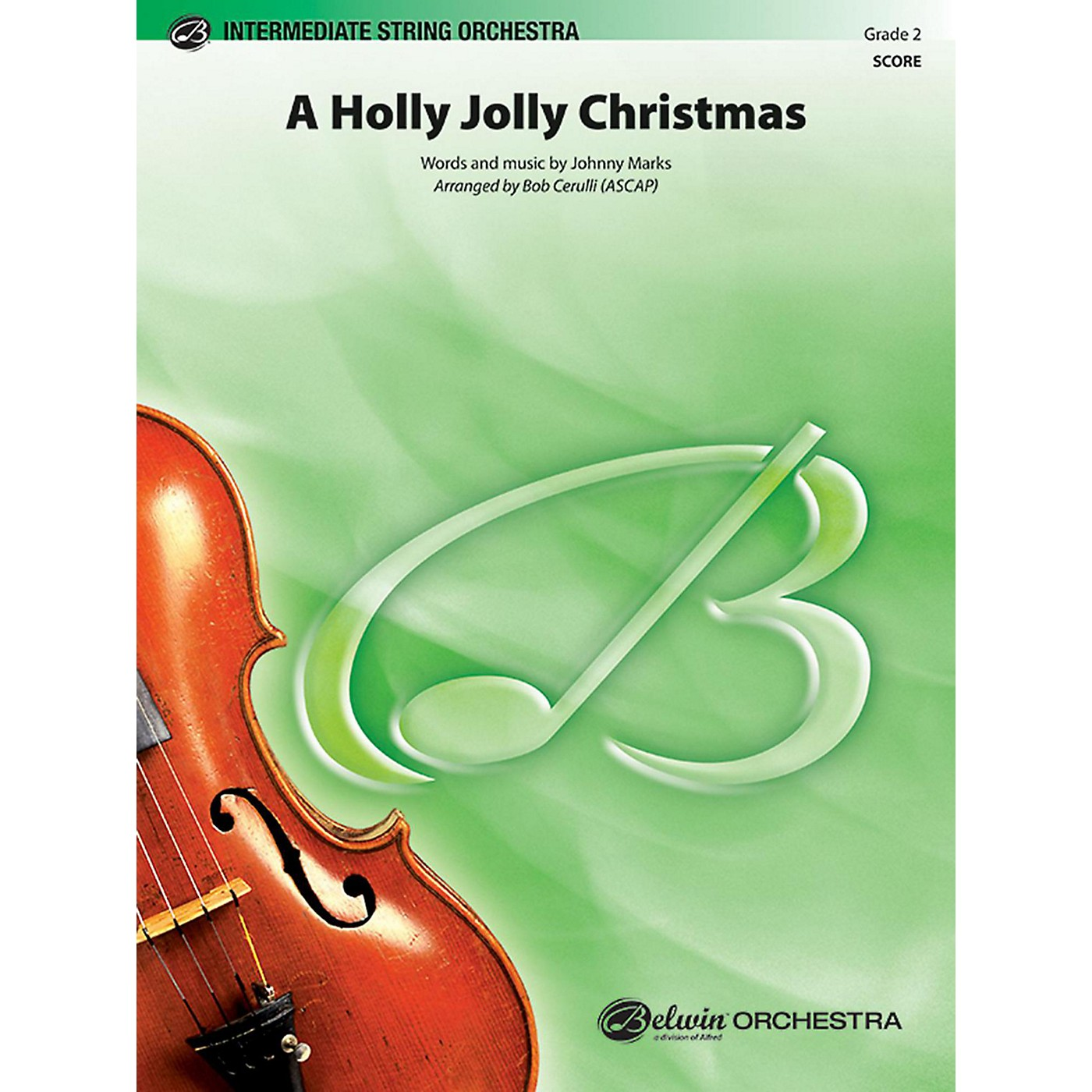 BELWIN A Holly Jolly Christmas Grade 2 thumbnail