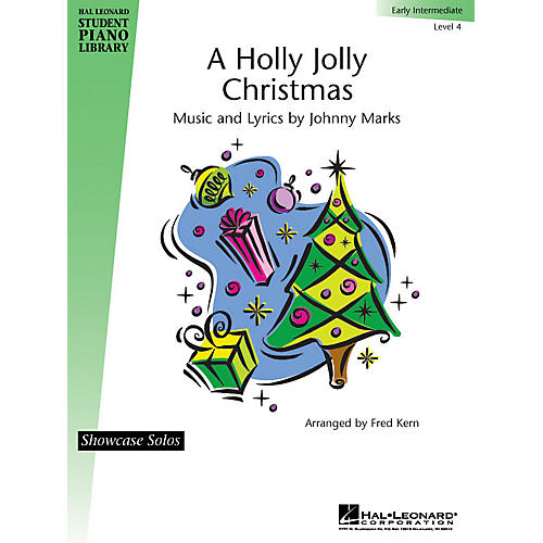 Hal Leonard A Holly Jolly Christmas Piano Library Series by Johnny Marks (Level Early Inter) thumbnail