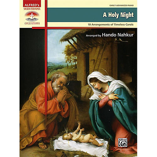 Alfred A Holy Night Early Advanced Piano Book thumbnail