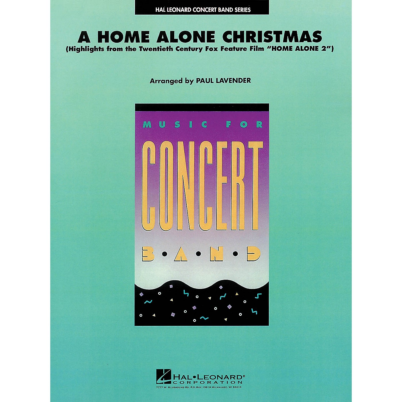Hal Leonard A Home Alone Christmas (from HOME ALONE) Concert Band Level 4 Arranged by Paul Lavender thumbnail