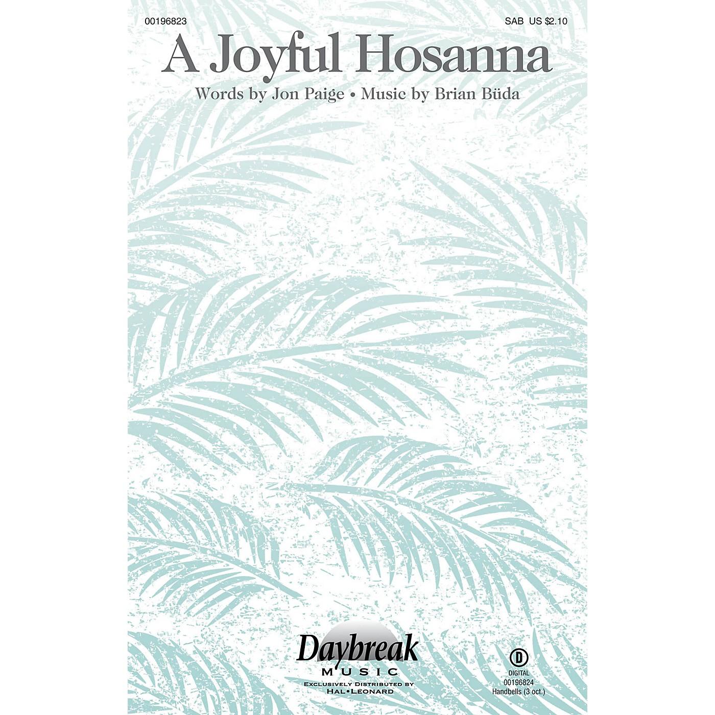 Daybreak Music A Joyful Hosanna SAB composed by Brian Büda thumbnail