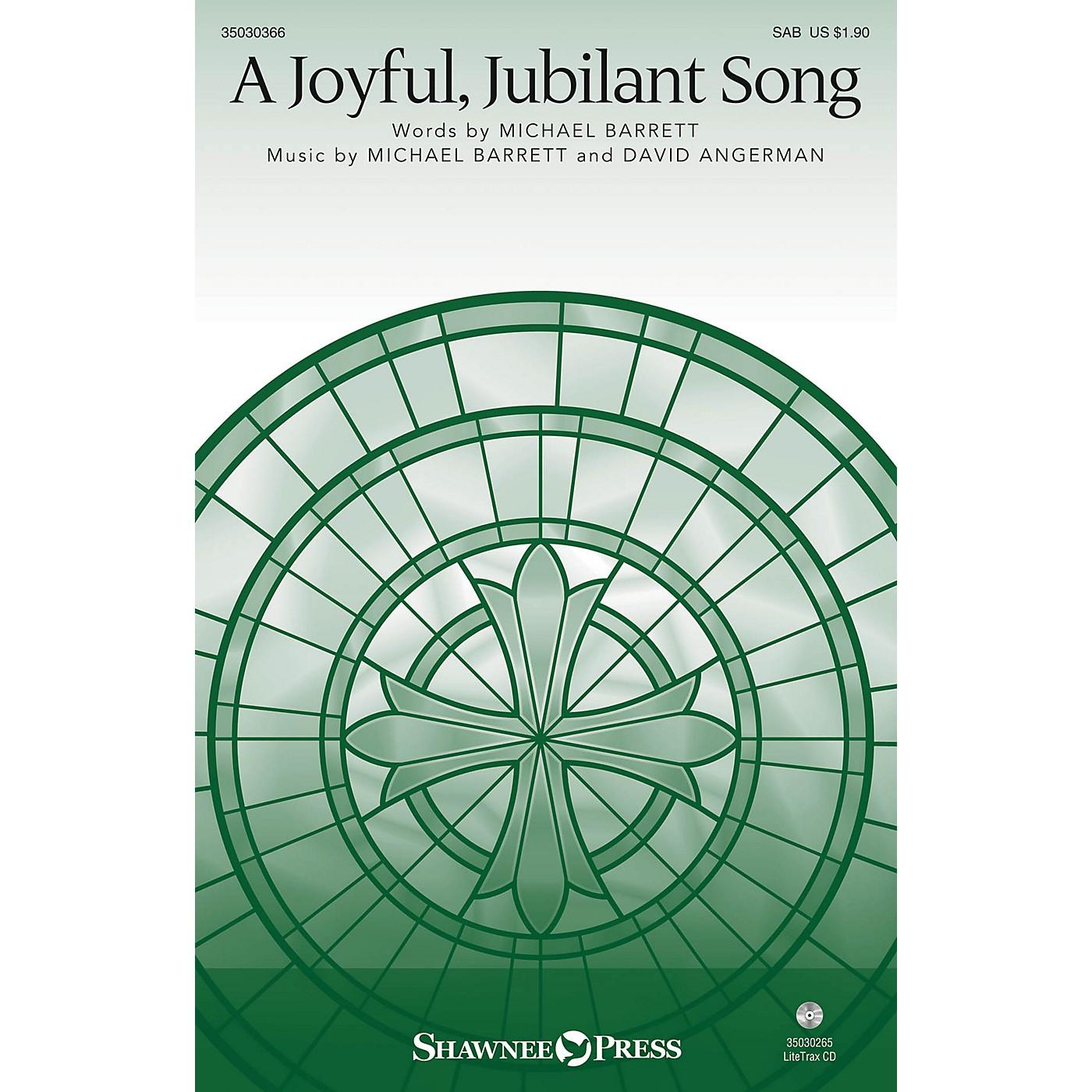 Shawnee Press A Joyful, Jubilant Song SAB composed by Michael Barrett thumbnail