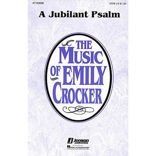 Hal Leonard A Jubilant Psalm SATB composed by Emily Crocker thumbnail