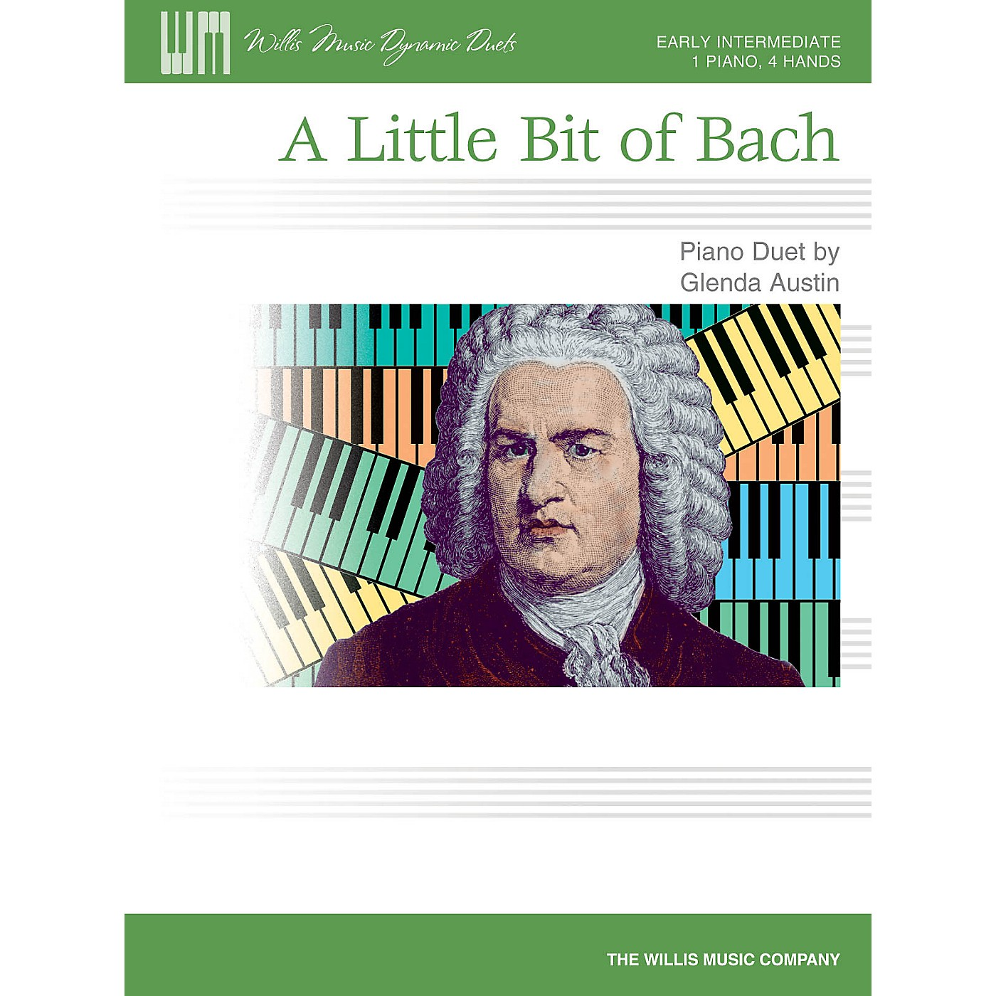 Willis Music A Little Bit of Bach Willis Series by Glenda Austin (Level Early Inter) thumbnail