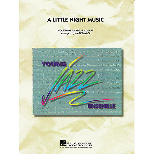 Hal Leonard A Little Night Music Jazz Band Level 3 Arranged by Mark Taylor thumbnail