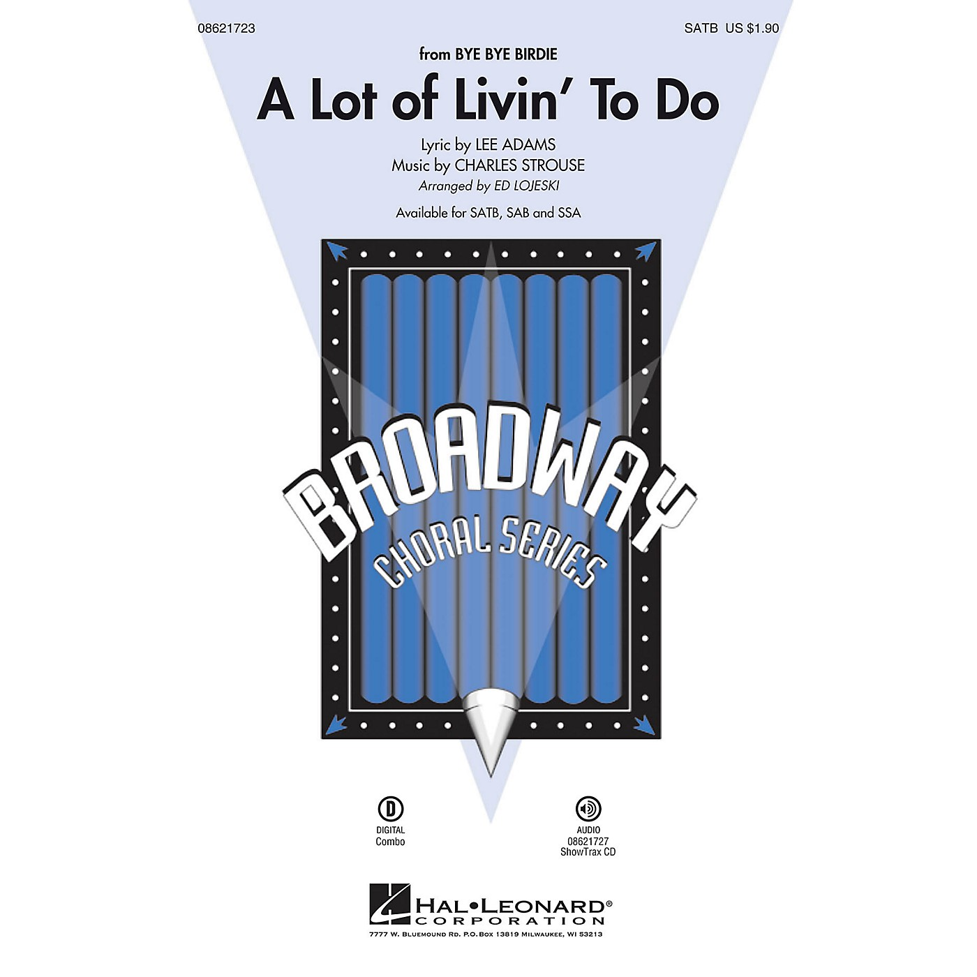 Hal Leonard A Lot of Livin' To Do (from Bye Bye Birdie) ShowTrax CD Arranged by Ed Lojeski thumbnail