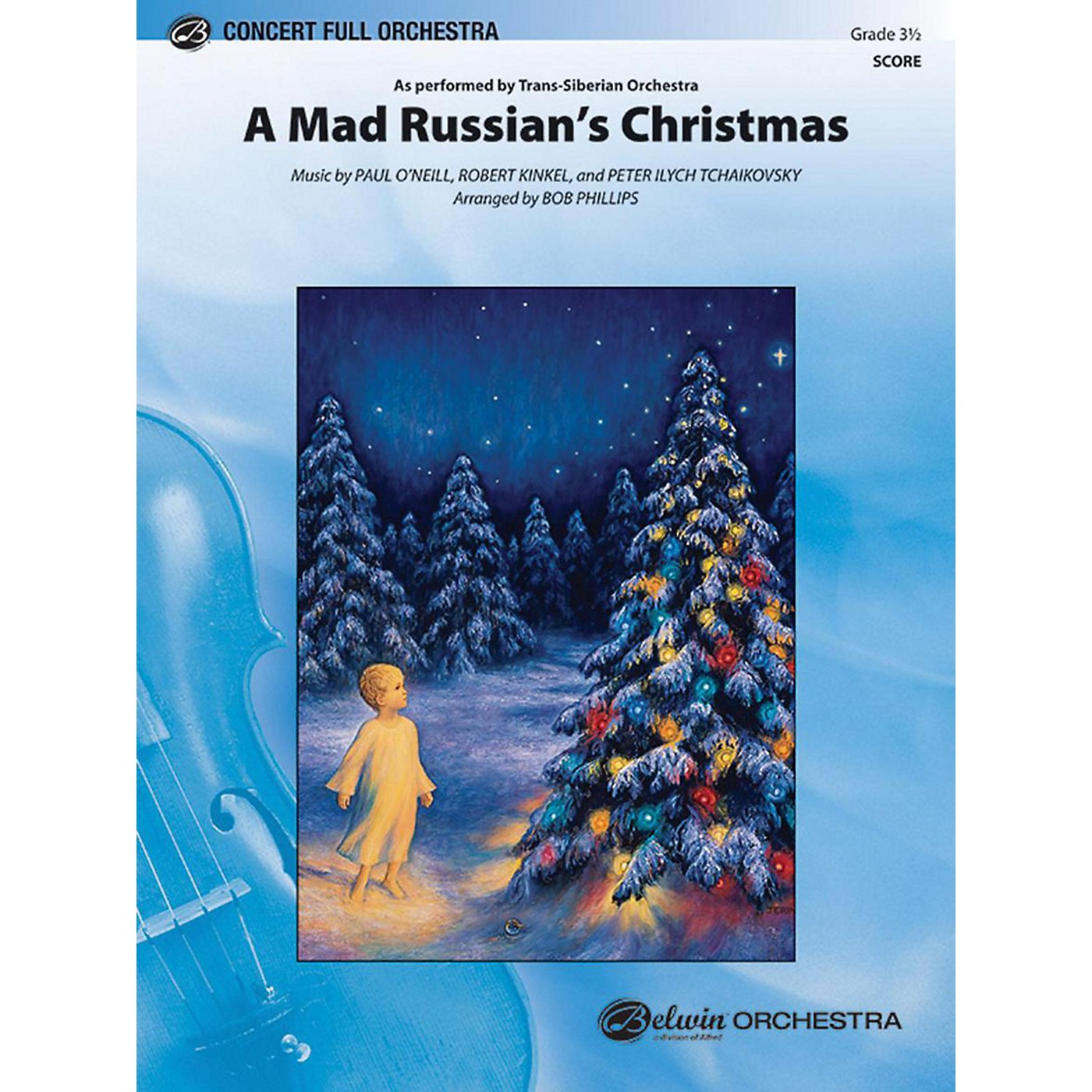 Alfred A Mad Russian's Christmas Full Orchestra Grade 3.5 thumbnail