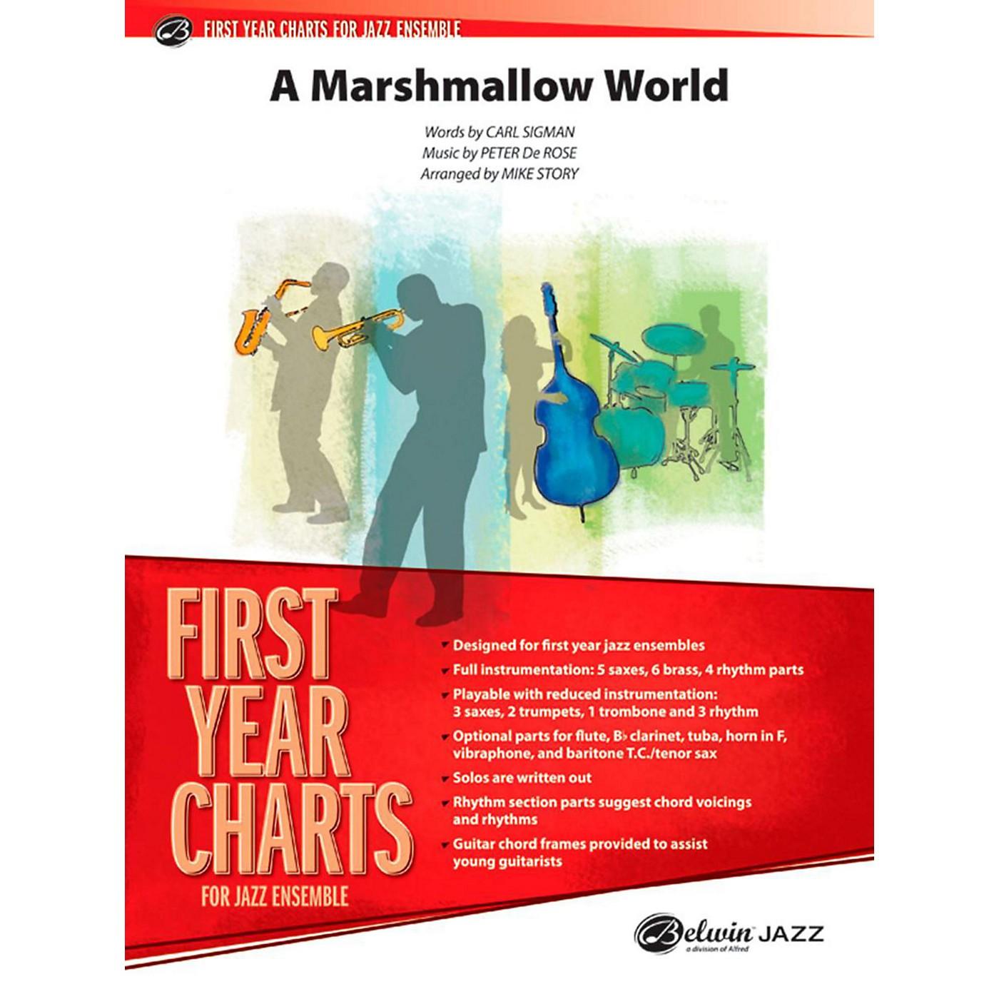 Alfred A Marshmallow World Jazz Band Grade 1 thumbnail