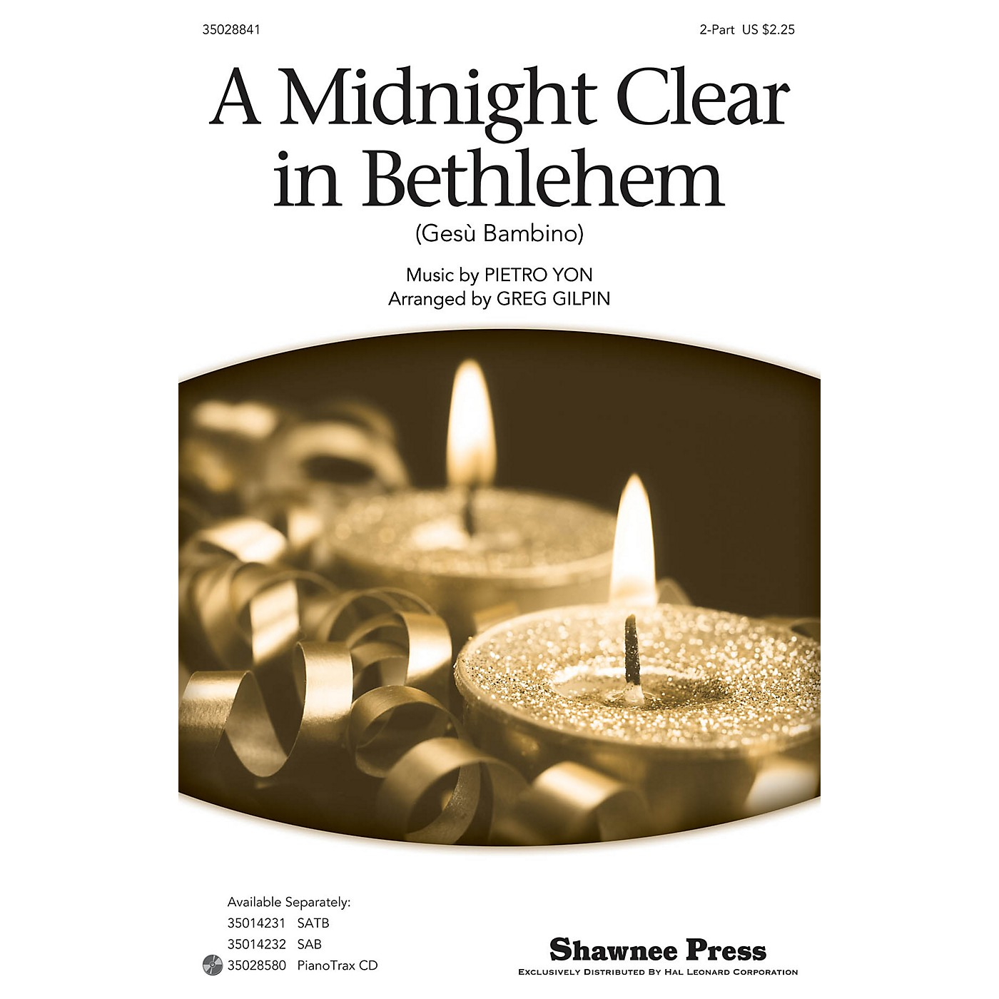 Shawnee Press A Midnight Clear in Bethlehem 2-Part arranged by Greg Gilpin thumbnail