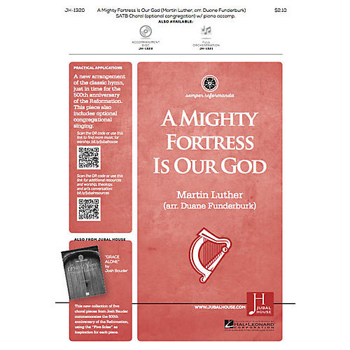 Jubal House Publications A Mighty Fortress Is Our God SATB arranged by Duane Funderburk thumbnail