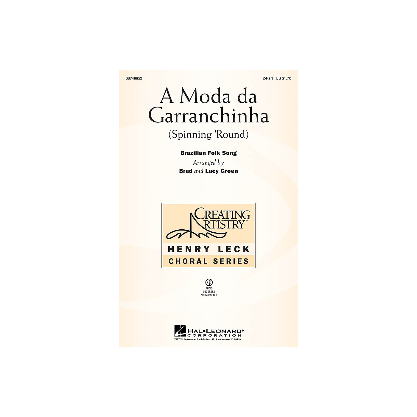 Hal Leonard A Moda da Garranchinha (Spinning 'Round) VoiceTrax CD Arranged by Brad Green thumbnail