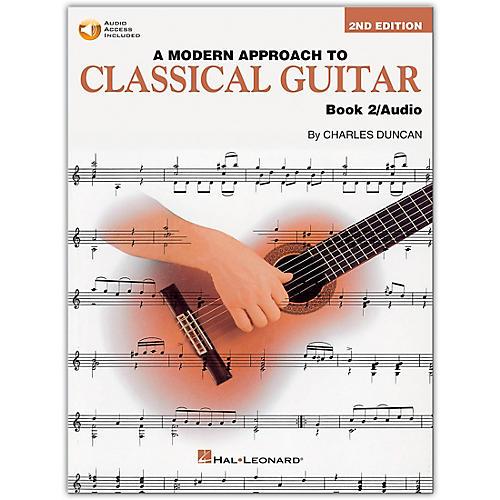 Hal Leonard A Modern Approach to Classical Guitar 2 (Book/Online Audio) thumbnail