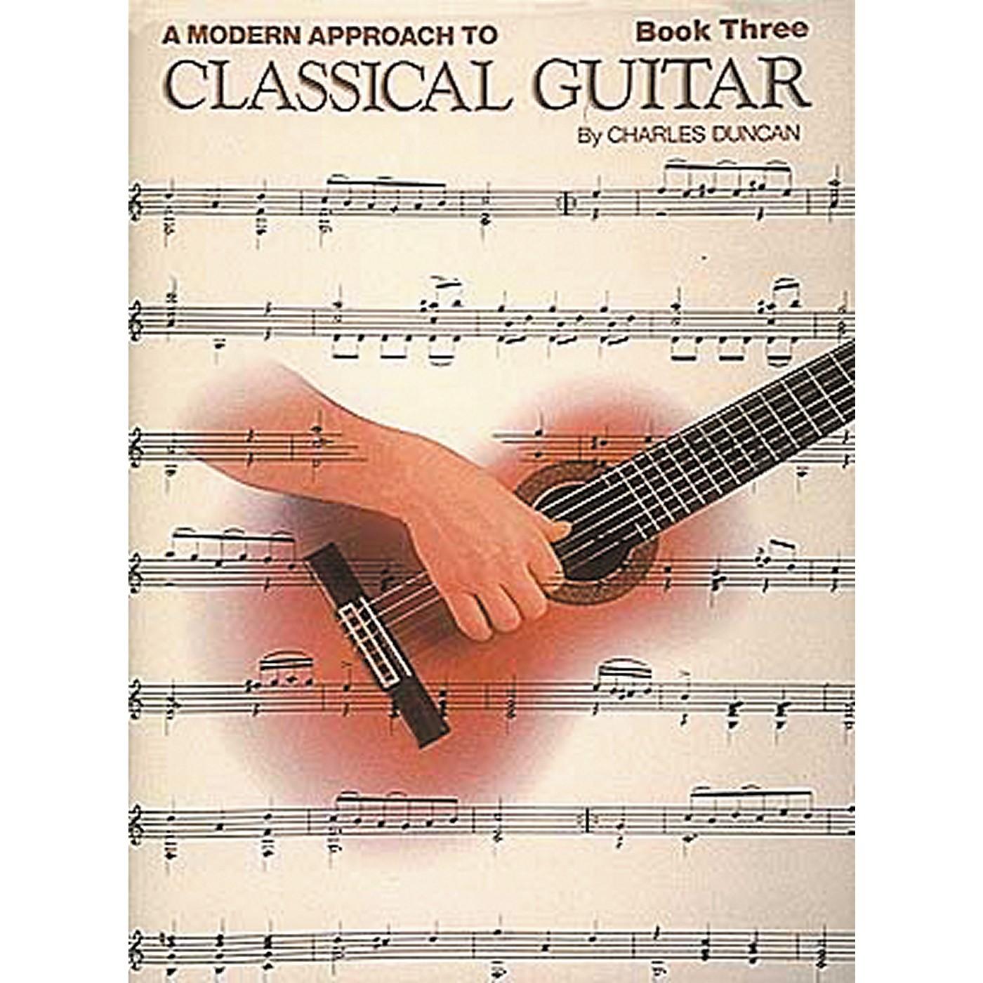 Hal Leonard A Modern Approach to Classical Guitar Book thumbnail