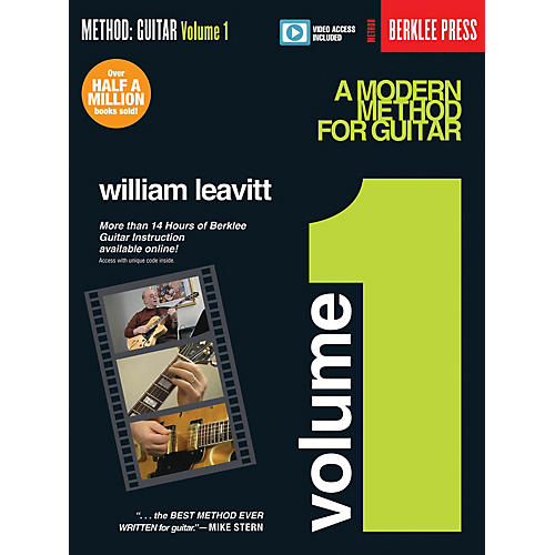 Berklee Press A Modern Method for Guitar - Volume 1 Guitar Method Series Softcover Video Online by William Leavitt thumbnail