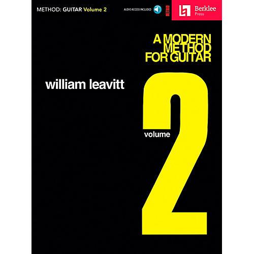 Berklee Press A Modern Method for Guitar - Volume 2 (Book/CD) thumbnail
