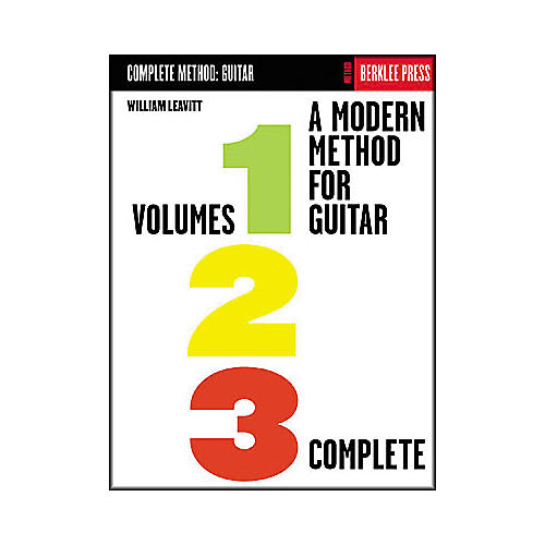 Berklee Press A Modern Method for Guitar - Volumes 1, 2, 3 Complete Book thumbnail