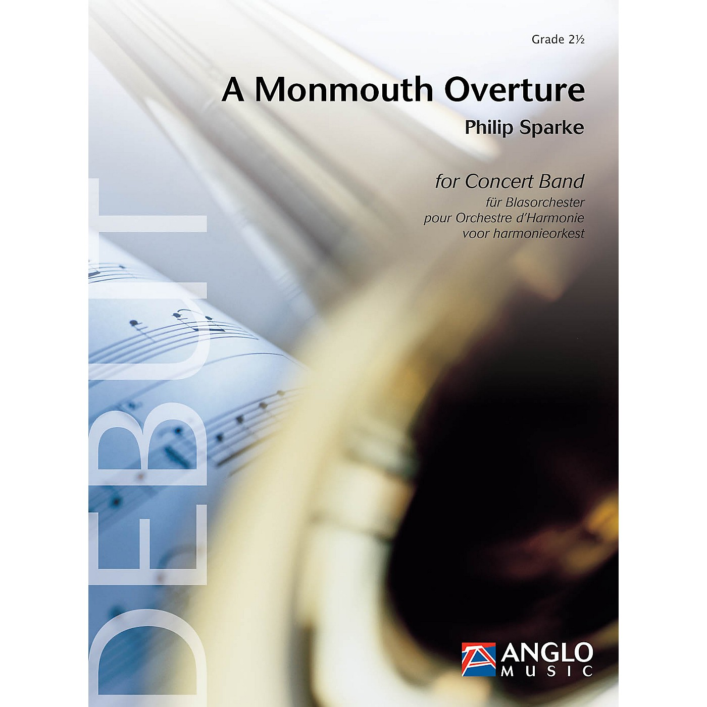 Anglo Music Press A Monmouth Overture (Grade 2.5 - Score and Parts) Concert Band Level 2.5 Composed by Philip Sparke thumbnail