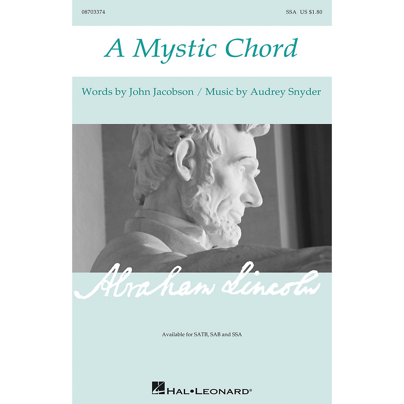Hal Leonard A Mystic Chord SSA composed by Audrey Snyder thumbnail
