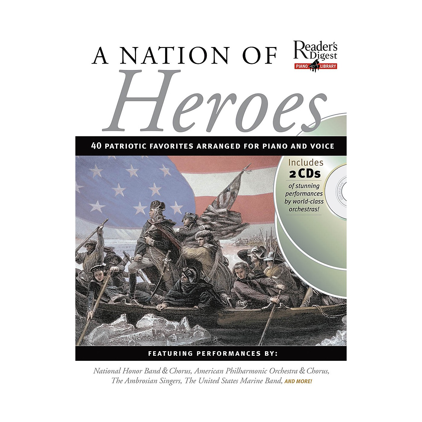 Music Sales A Nation of Heroes Music Sales America Series Softcover with CD thumbnail