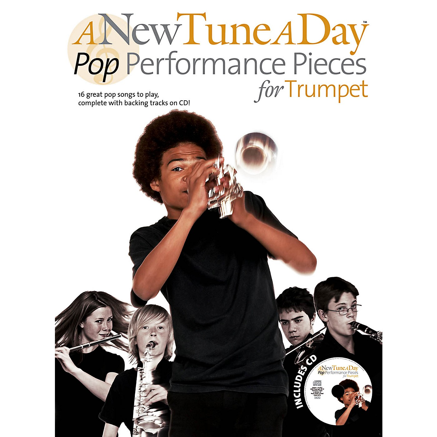 Music Sales A New Tune A Day - Pop Performance Pieces For Trumpet Book/CD thumbnail