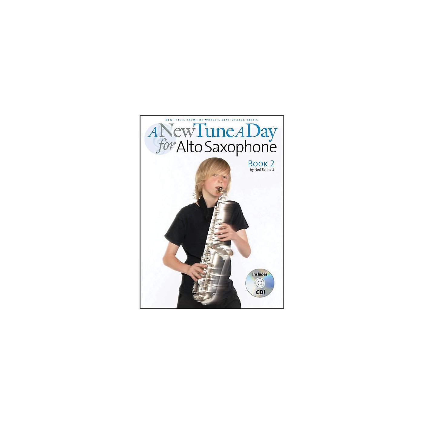 Music Sales A New Tune A Day Alto Sax Book 2 Book/CD thumbnail