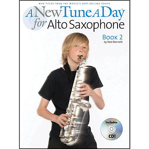 Music Sales A New Tune A Day Alto Sax Book 2 Book/CD thumbnail