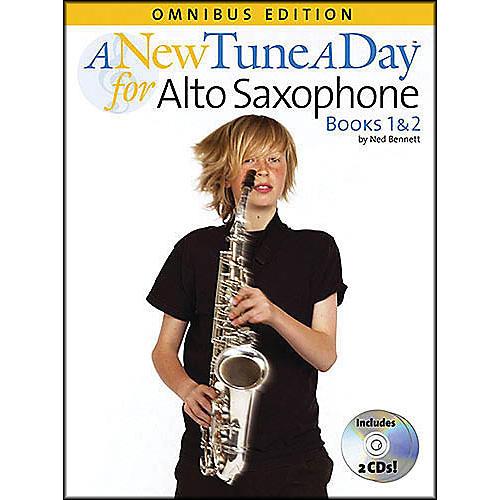 Music Sales A New Tune A Day Alto Sax Omnibus Book & 2 CD'S-thumbnail
