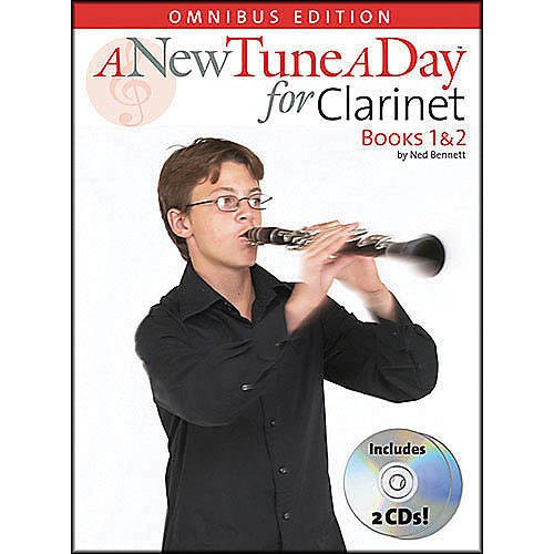 Music Sales A New Tune A Day Clarinet Omnibus Book 1&2 Book/2CD's thumbnail