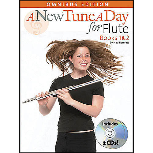 Music Sales A New Tune A Day Flute Omnibus Book/2CD's thumbnail