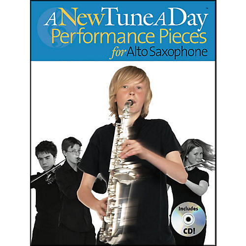 Music Sales A New Tune A Day Performance Pieces Alto Sax Book/CD thumbnail
