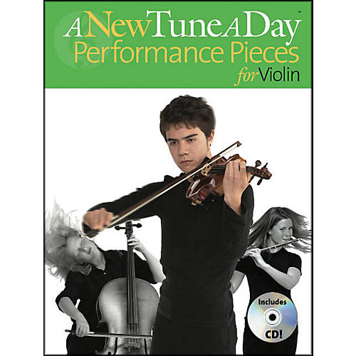 Music Sales A New Tune A Day Performance Pieces for Violin Book/CD thumbnail