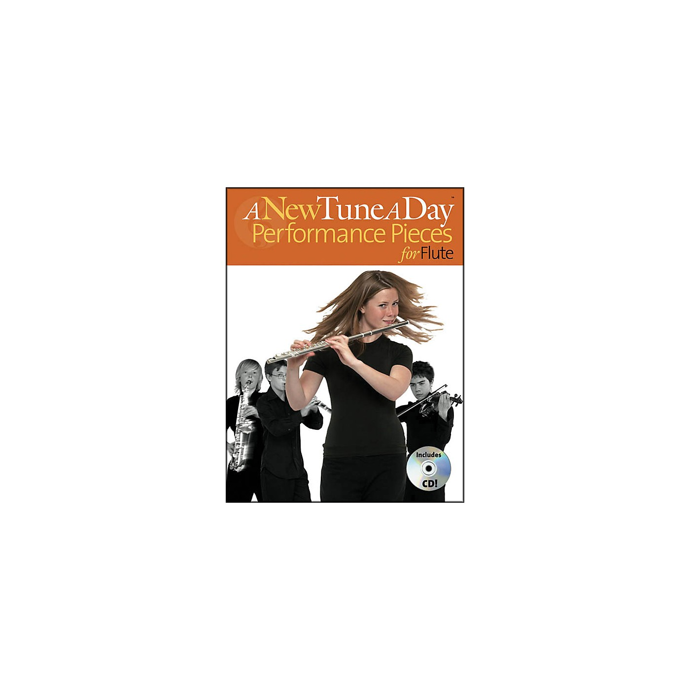 Music Sales A New Tune A Day Performances Pieces for Flute Book/CD thumbnail