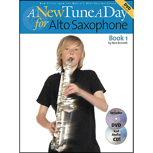 Music Sales A New Tune A Day for Alto Saxophone Book 1 Book/CD/DVD thumbnail