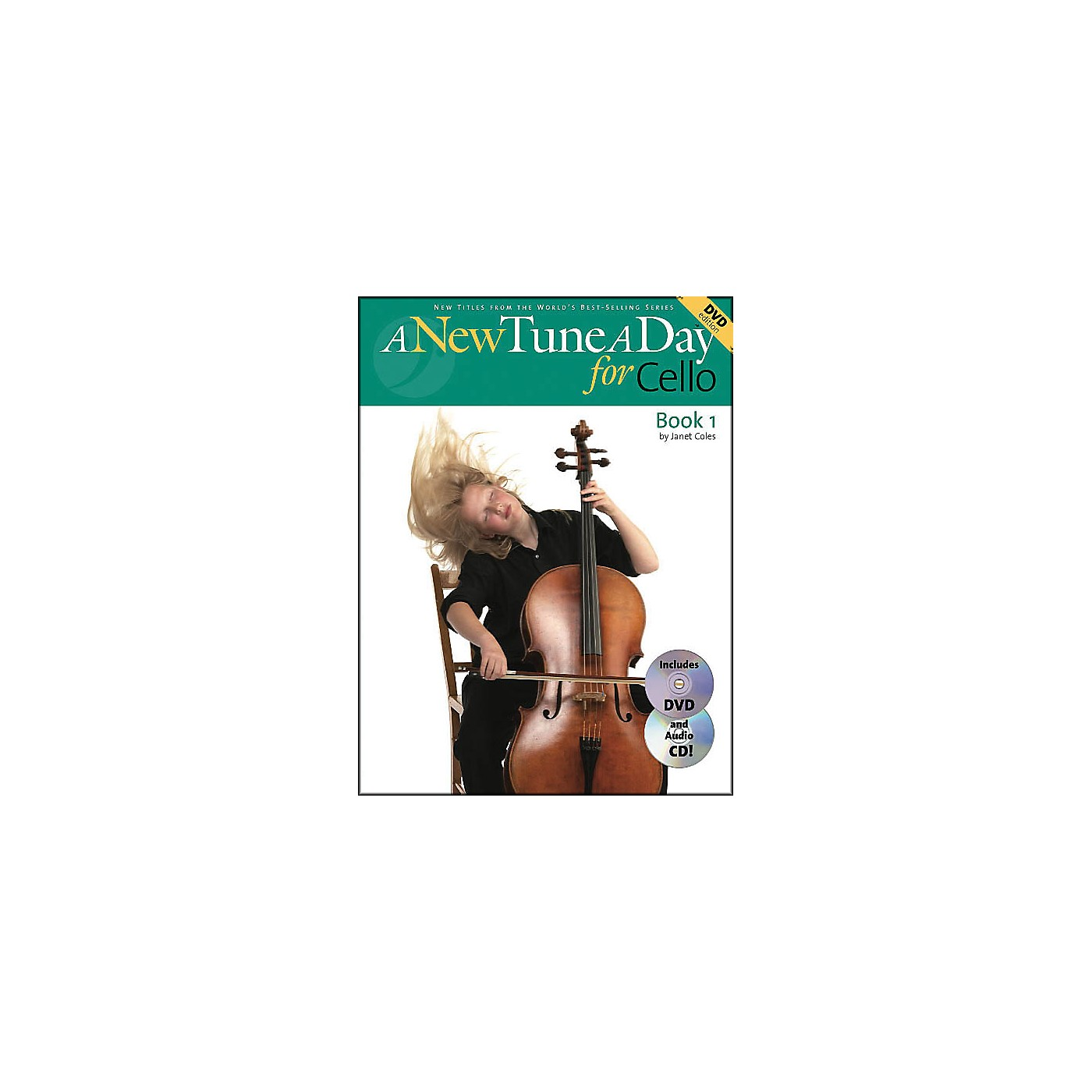 Music Sales A New Tune A Day for Cello Book 1 with DVD And Audio CD thumbnail