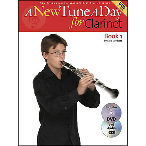 Music Sales A New Tune A Day for Clarinet Book 1 with DVD And CD thumbnail
