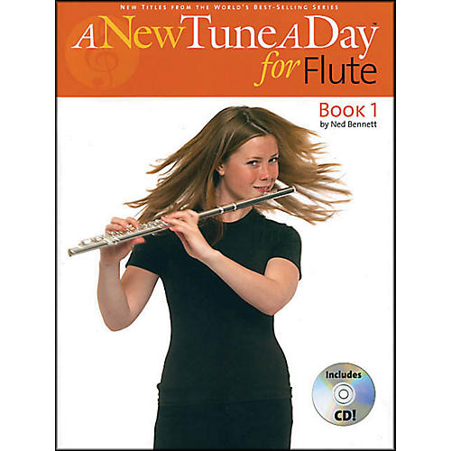 Music Sales A New Tune A Day for Flute Book/CD thumbnail