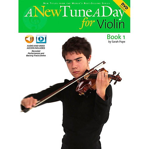 Music Sales A New Tune A Day for Violin Book 1 CD And DVD thumbnail