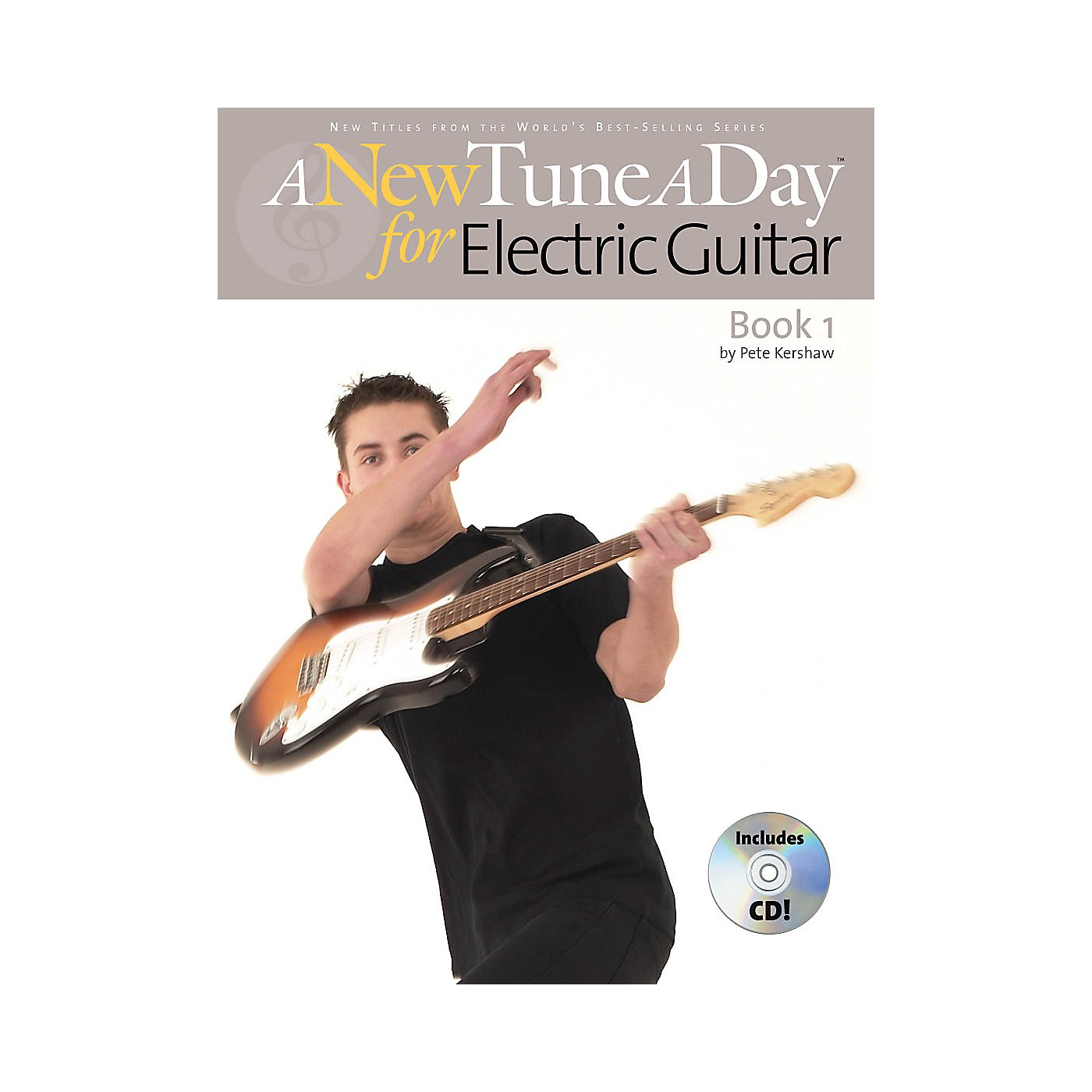 Music Sales A New Tune a Day - Electric Guitar, Book 1 Music Sales America Series Softcover with CD by Pete Kershaw thumbnail