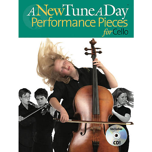 Music Sales A New Tune a Day - Performance Pieces for Cello Music Sales America Series Written by Ned Bennett thumbnail