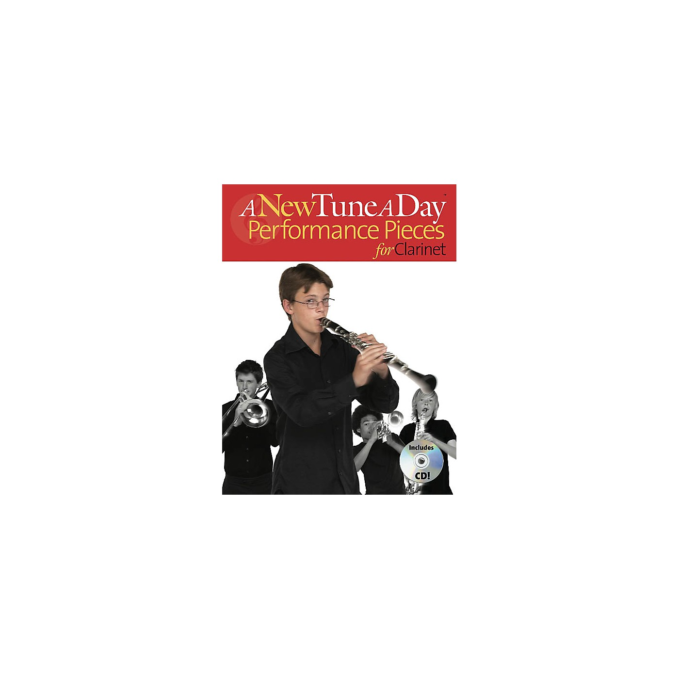 Music Sales A New Tune a Day - Performance Pieces for Clarinet Music Sales America BK/CD by Ned Bennett thumbnail