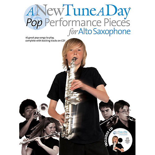Music Sales A New Tune a Day - Pop Performances for Alto Saxophone Music Sales America Series Book with CD thumbnail