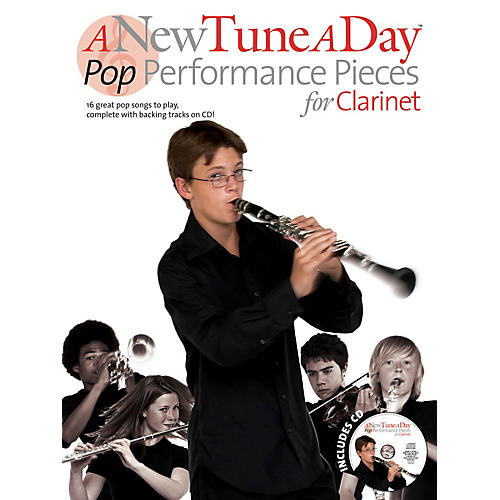Music Sales A New Tune a Day - Pop Performances for Clarinet Music Sales America Series BK/CD thumbnail