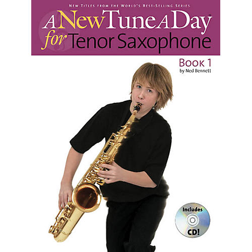 Music Sales A New Tune a Day - Tenor Saxophone, Book 1 Music Sales America Series Book with CD by John Blackwell thumbnail