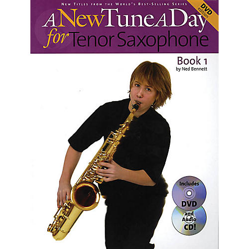 Music Sales A New Tune a Day - Tenor Saxophone, Book 1 Music Sales America Series Written by John Blackwell thumbnail