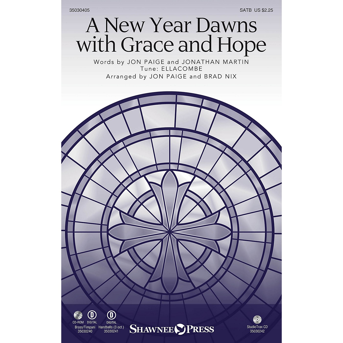 Shawnee Press A New Year Dawns with Grace and Hope SATB/CONGREGATION arranged by Jon Paige thumbnail