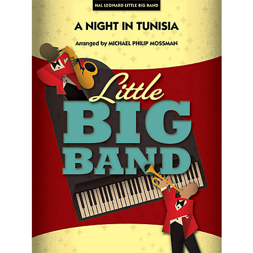 Hal Leonard A Night In Tunisia - Little Big Band Series Level 3 - 4 thumbnail