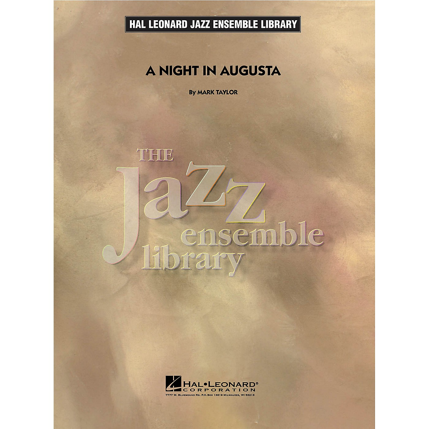 Hal Leonard A Night in Augusta Jazz Band Level 4 Composed by Mark Taylor thumbnail