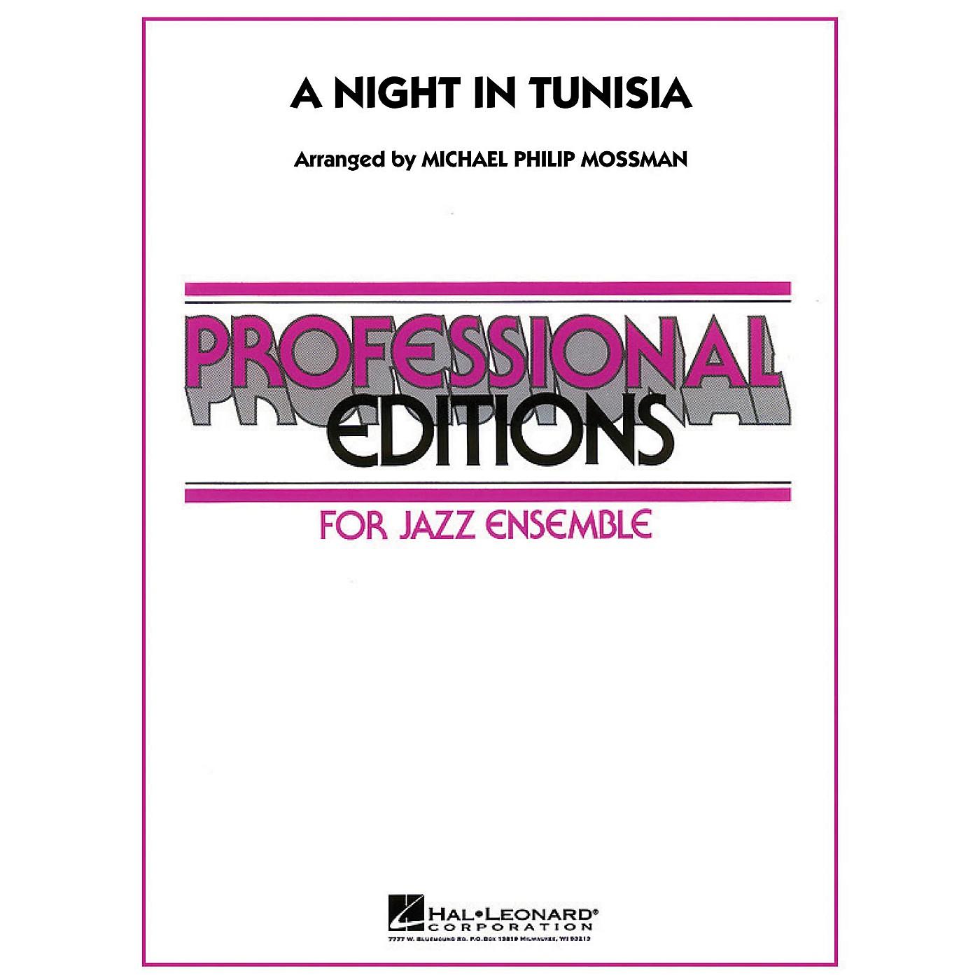 Hal Leonard A Night in Tunisia Jazz Band Level 5 Arranged by Michael Philip Mossman thumbnail