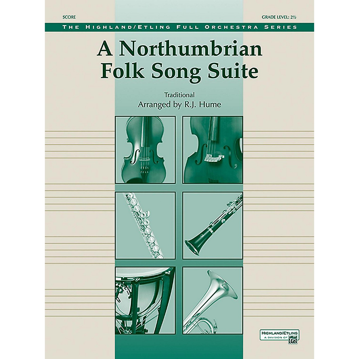 Alfred A Northumbrian Folk Song Suite Full Orchestra Grade 2.5 thumbnail